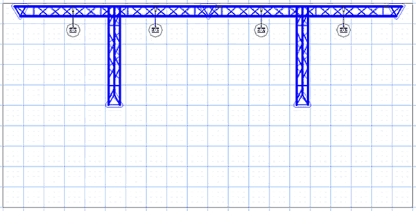 BK4-TT 10' x 20' Truss Kit Floor Plan