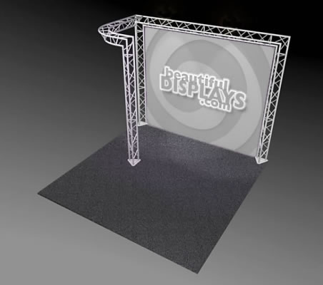 BK5-J 10' x 10' Truss Kit  (truss hardware & case only - fabric graphic not included)