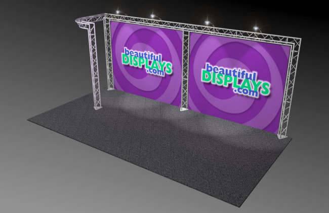 BK5 10' x 20' Truss Display