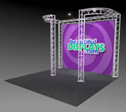 BK6-DJ 10' x 10' Truss Kit with Cases, Graphic & Lights