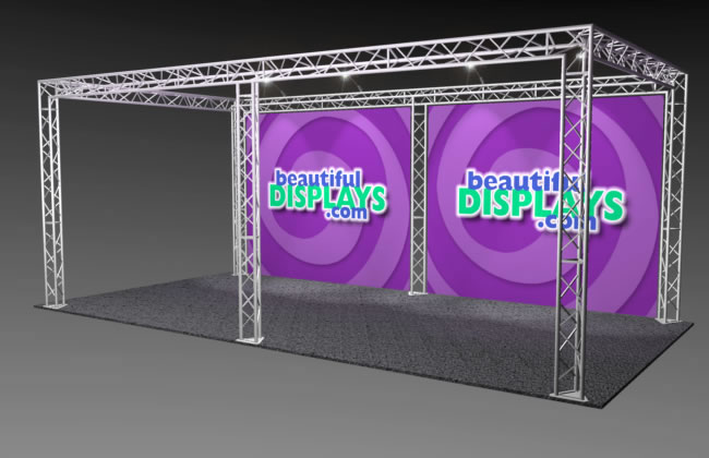 BK7 10' x 20' Truss Display
