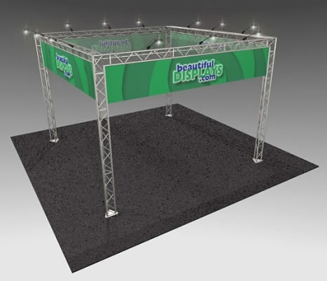 BK7 20' x 20' Truss Kit  (as shown with cases, graphics & lights)