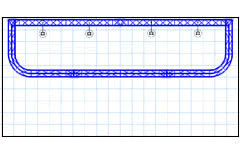 BK8 10' x 20' Truss Display Floor Plan