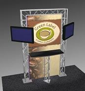 Truss Kiosk Displays from BeautifulDisplays