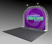 Nimlok® Trilok Aluminum Truss Arch & Tabletop Displays