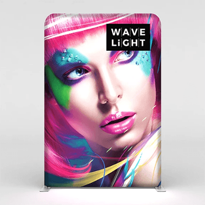 5 ft. WaveLight® Backlit Tension Fabric Display