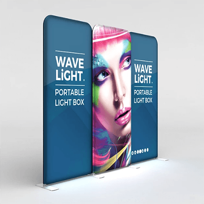 WaveLight® Backlit Tension Fabric Display Kit 05