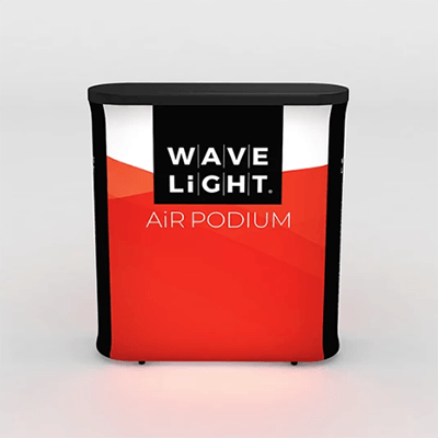 WaveLight Air® Podium Backlit Inflatable Tension Fabric Display