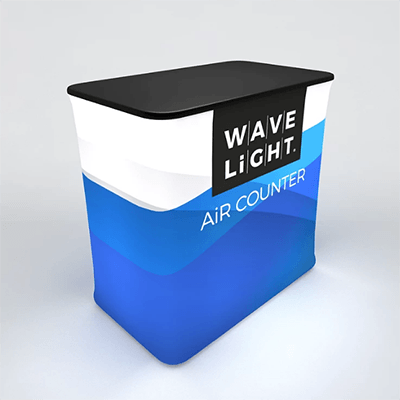 Rectangular WaveLight Air® Inflatable Backlit Counter