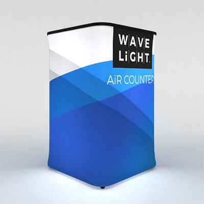 Square WaveLight Air® Inflatable Backlit Counter