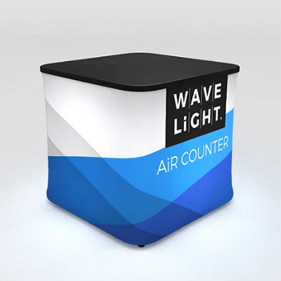 Square Mini WaveLight Air® Inflatable Backlit Counter